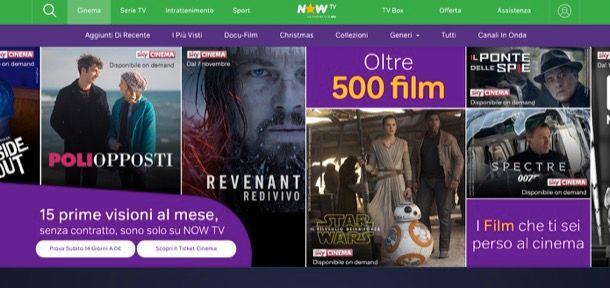Migliori siti film streaming
