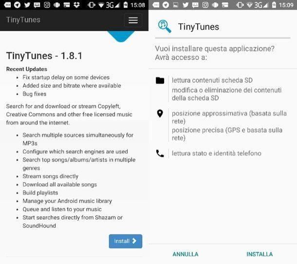 App per scaricare musica gratis Android
