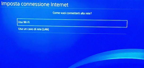 Come aggiornare PS4