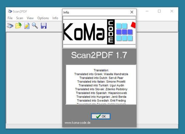 Programmi per utilizzare lo scanner