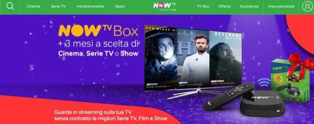 Problemi NOW TV