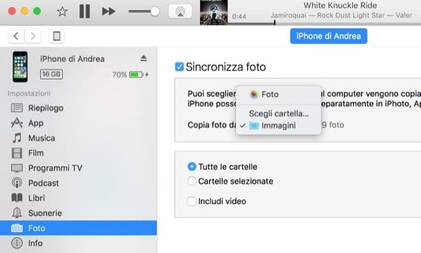come copiare rubrica da iphone a ipad