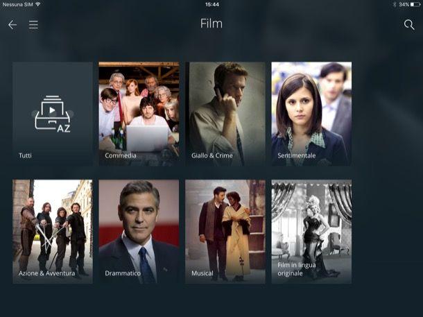 App per vedere film gratis