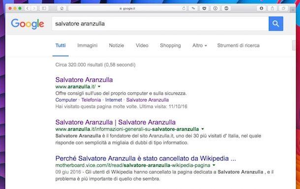 Come zoomare su Google