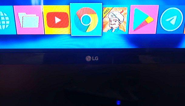 Come installare Google Chrome su Smart TV LG