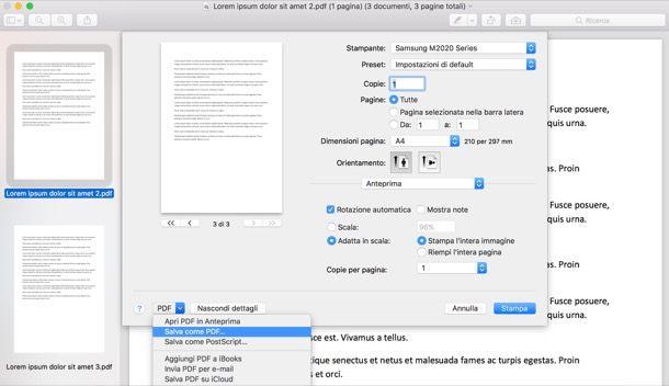Come unificare PDF