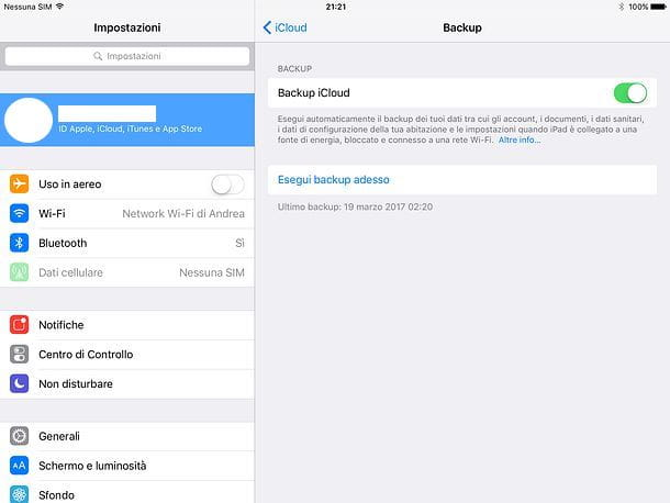 Come resettare completamente iPad