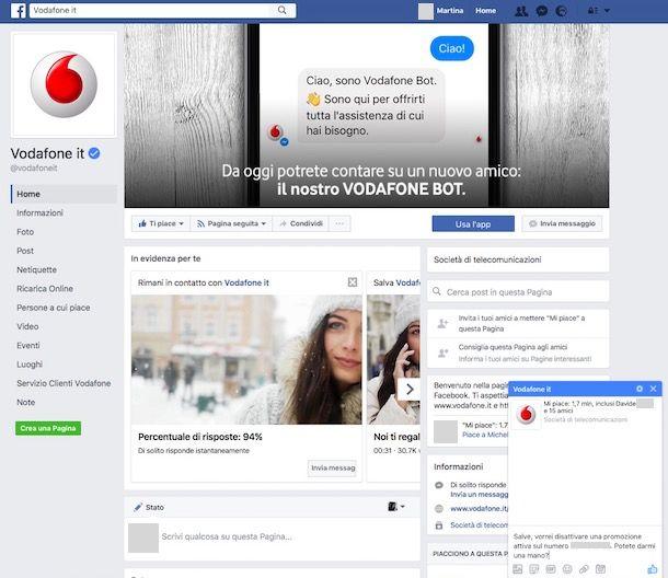Come Disattivare Le Opzioni Vodafone