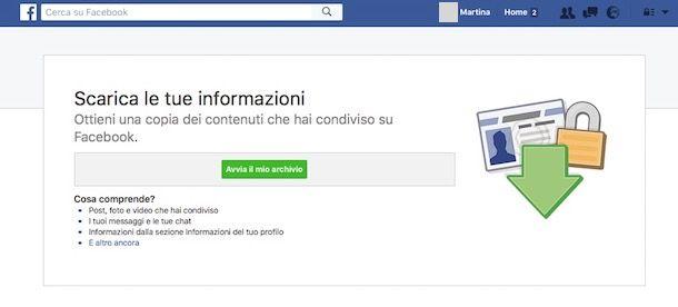 Come si elimina account Facebook