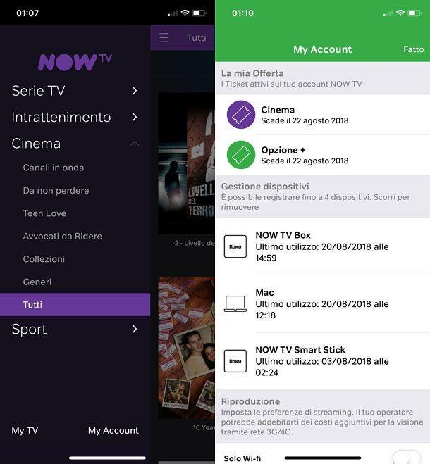 App NOW TV