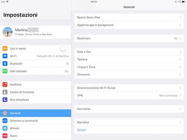 Come riavviare iPad