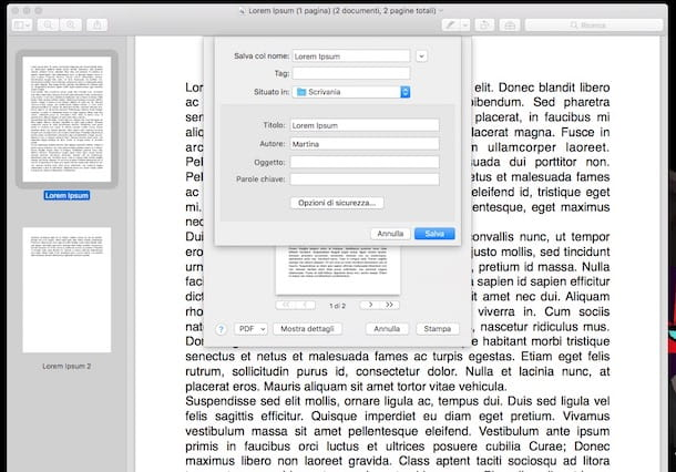 Come unificare file PDF