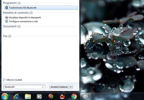 Come attivare il Bluetooth sul PC Windows 7