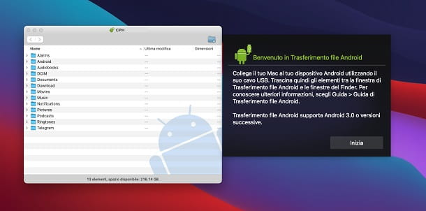 Android File Transfer macOS