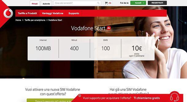 Passa a Vodafone da TIM