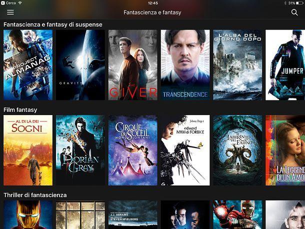 App per vedere film