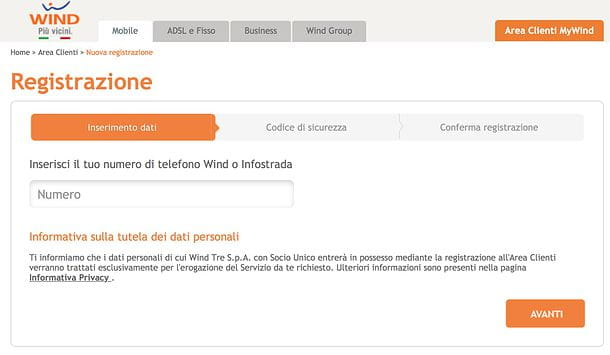 Come disattivare SMS My Wind