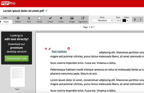 Come sovrascrivere su PDF