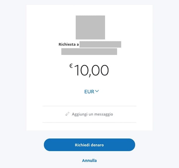 Come ricevere denaro con PayPal