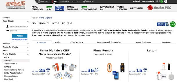 Come firmare digitalmente