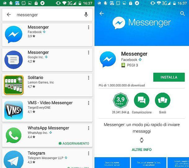 Come scaricare Messenger gratis