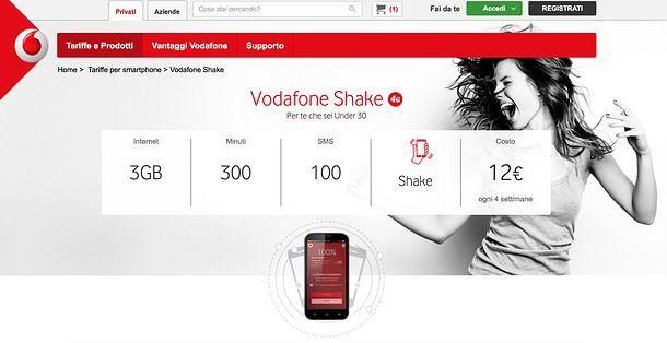 Come passare a Vodafone da Tre