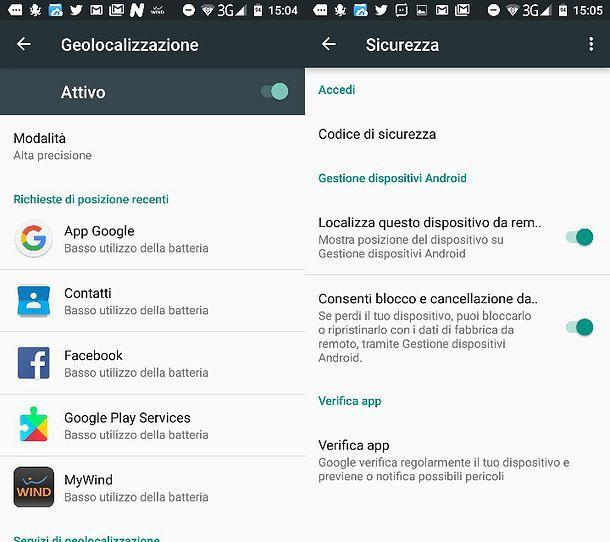 Come trovare Android