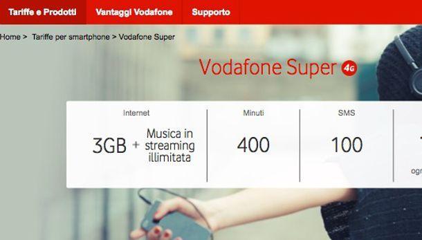 Offerte mobile Vodafone