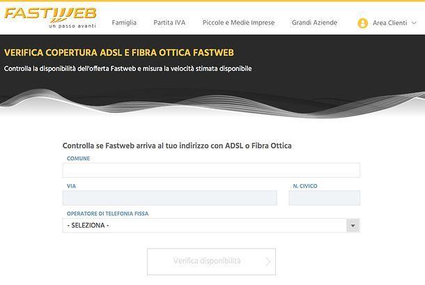 Come verificare copertura fibra ottica