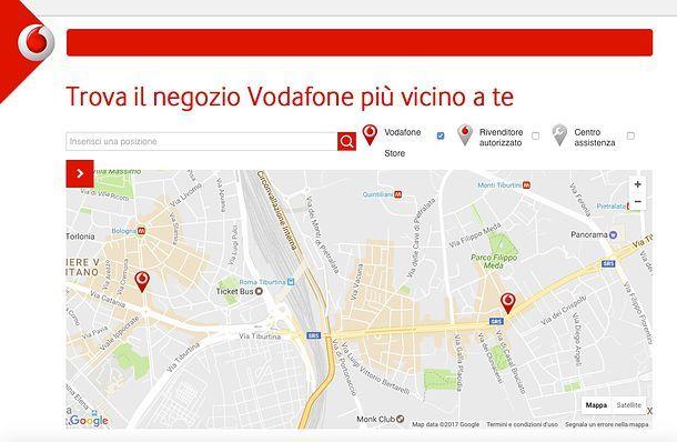Come passare a Vodafone da Wind