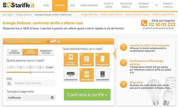8bb6ae8a27 Come confrontare tariffe luce | Salvatore Aranzulla