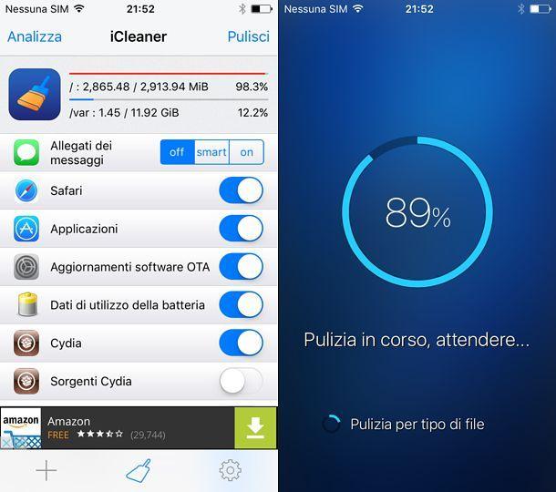 App per pulire il telefono