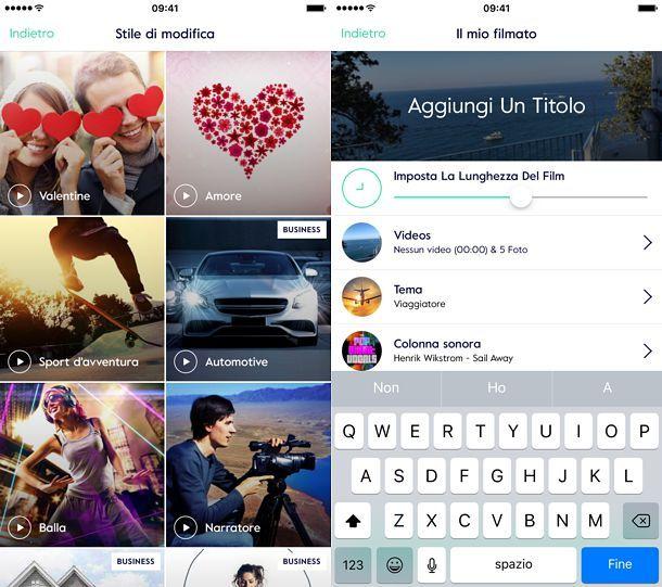 App per fare video con foto e musica