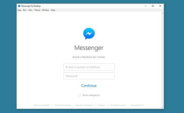 Come installare Messenger