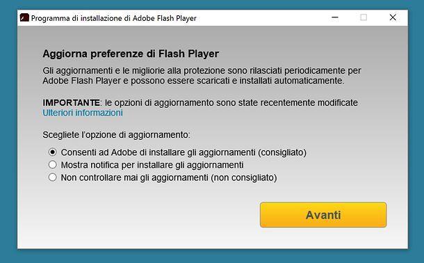 Come testare Flash Player