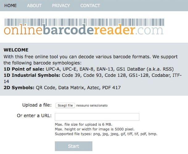 Come scannerizzare codice a barre