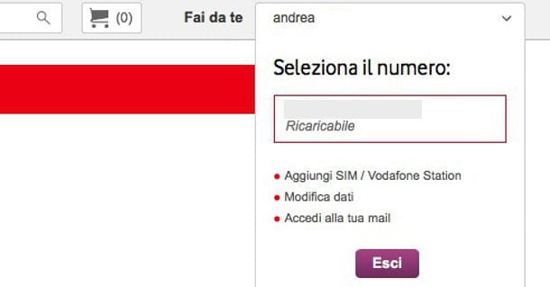 Come registrare Vodafone