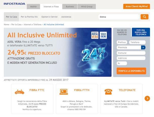 Come confrontare ADSL