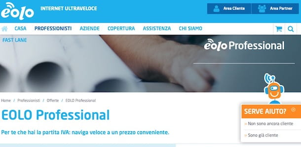 Test ADSL EOLO