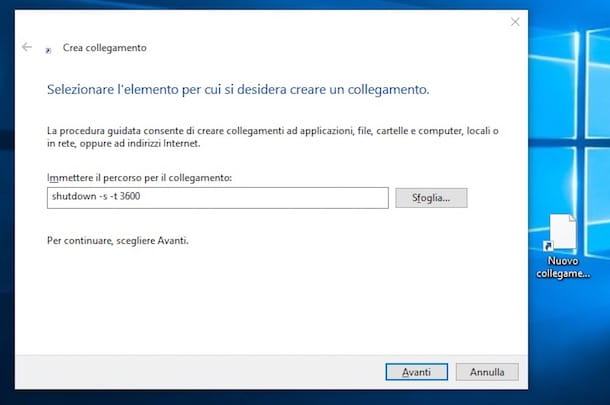 Come spegnere Windows 10