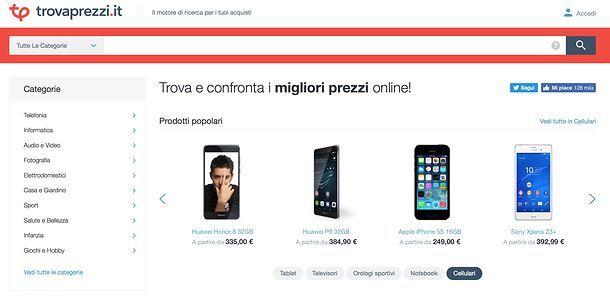 Come acquistare telefoni