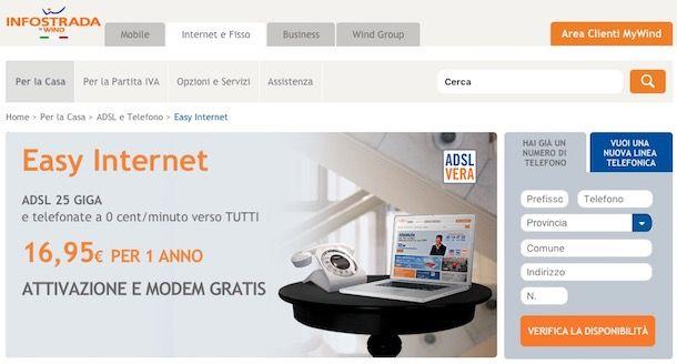 Offerte ADSL Infostrada