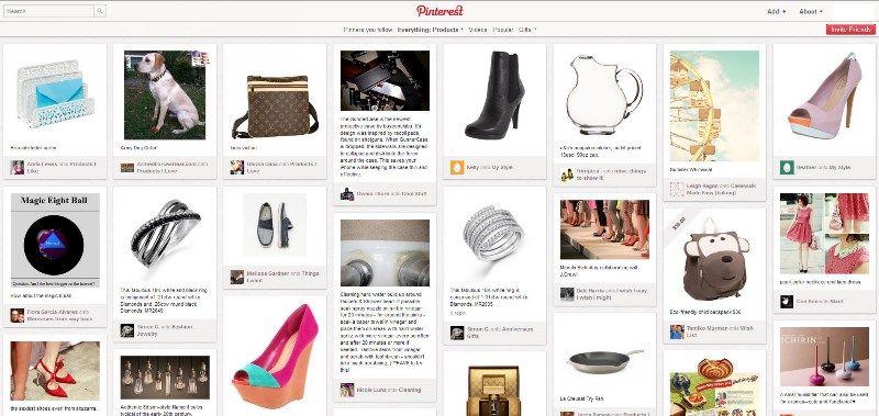 0b6724da580d A livello estetico e concettuale, ti accorgerai che Pinterest riprende l'idea  di appuntare i contenuti da ...