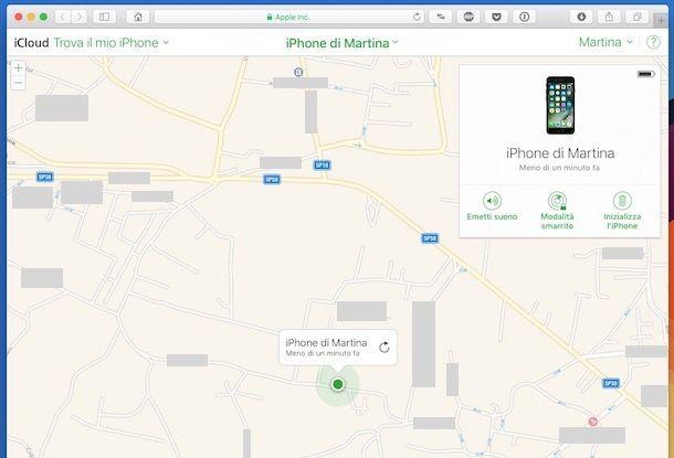 Come trovare il mio iPhone