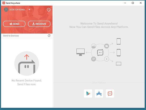 Come trasferire file Android
