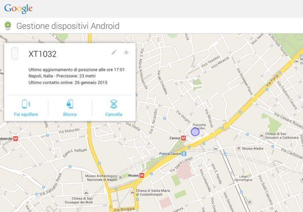 Come gestire dispositivi Android
