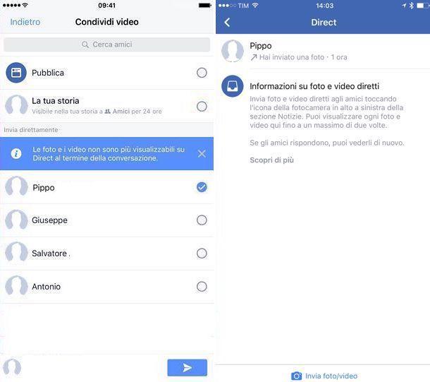 Come funzionano le Storie di Facebook