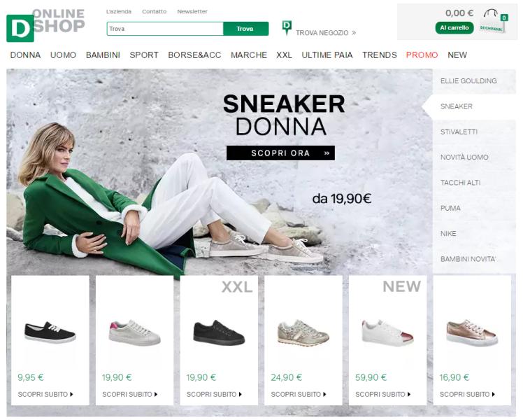 comprare scarpe