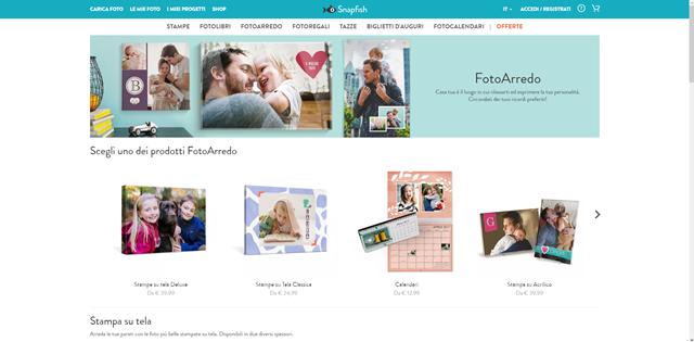 ec19a94a59 Uno tra i siti Internet più utilizzati per stampare poster è Snapfish, un  portale Web interamente dedicato alla stampa di foto digitali.