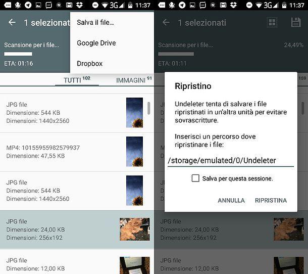 Come recuperare foto cancellate da Samsung